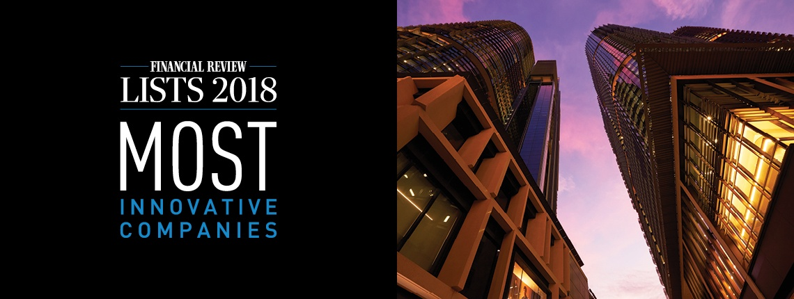 International Towers Recognised as one of the top 25 Most Innovative