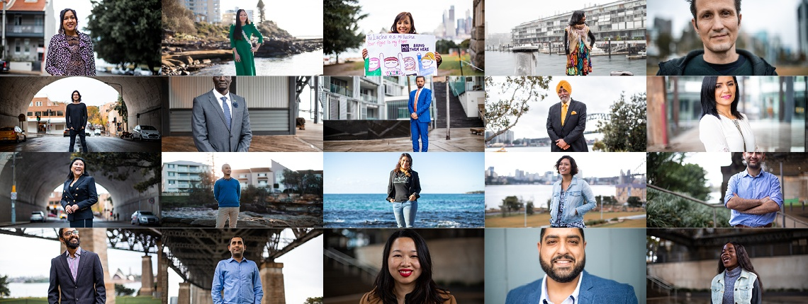 international towers celebrates diversity with faces of australia