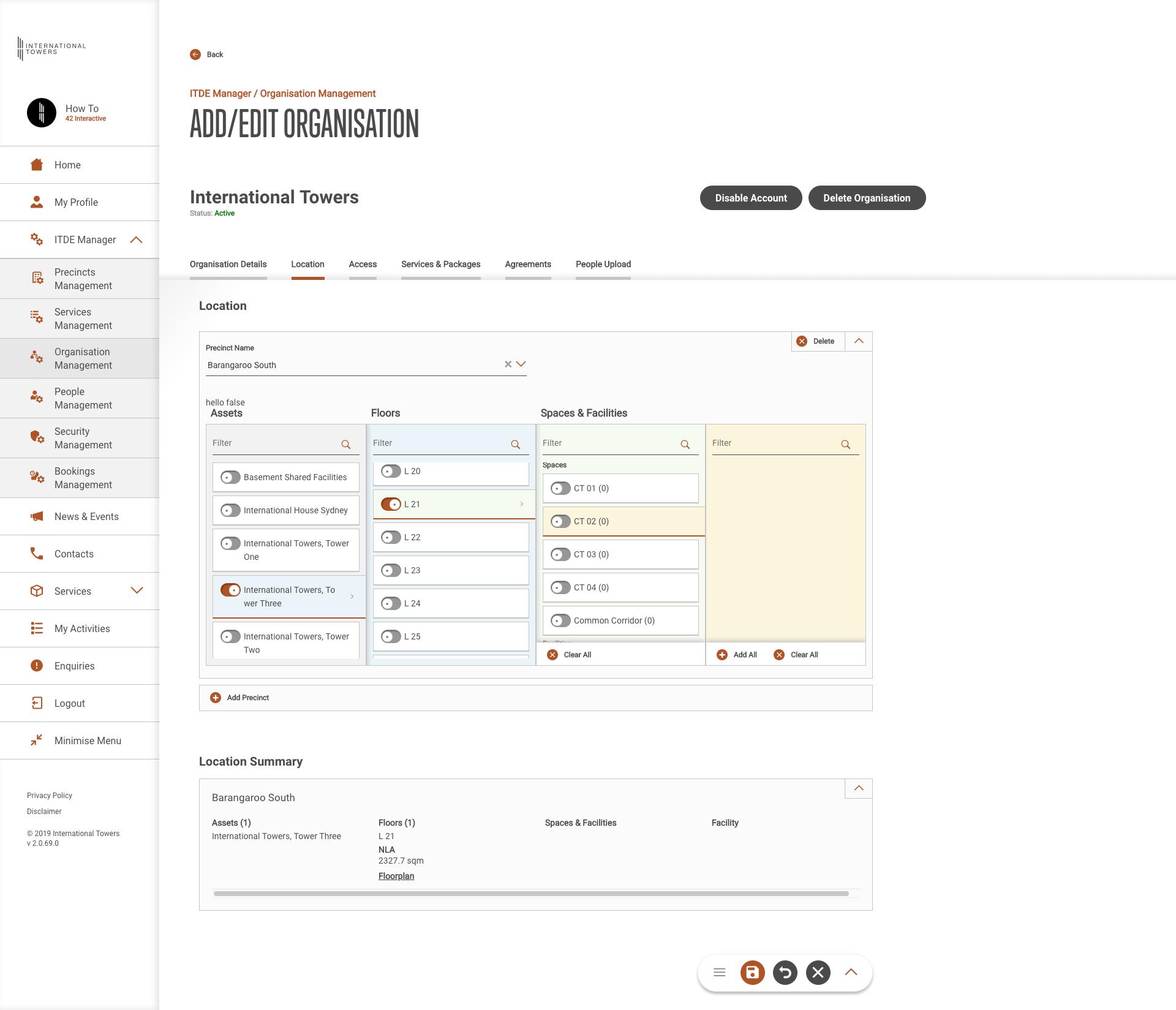 ITDE-organisationmanagement-orglocation