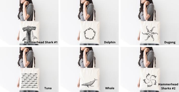 Plastic-free Tote bags