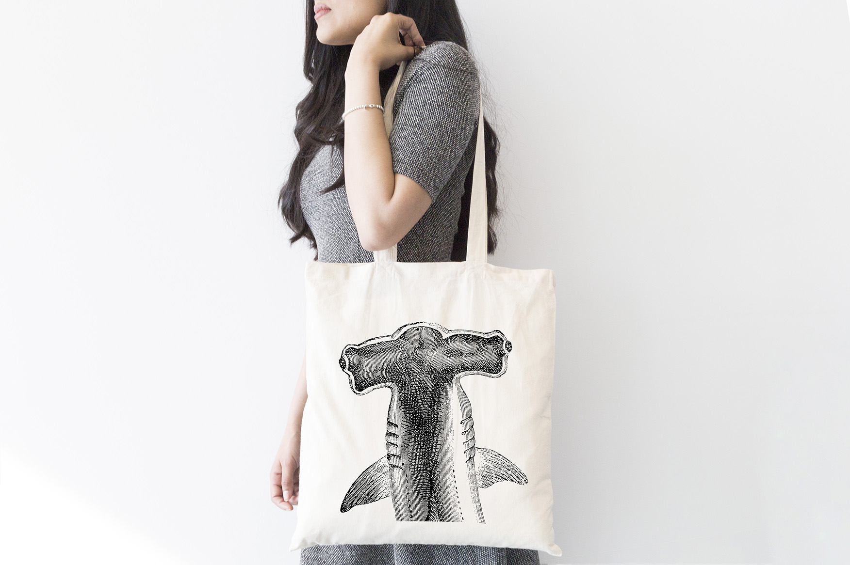 INT9369 Plastic Free July_Tote Bag-Designs_shark2 FA2