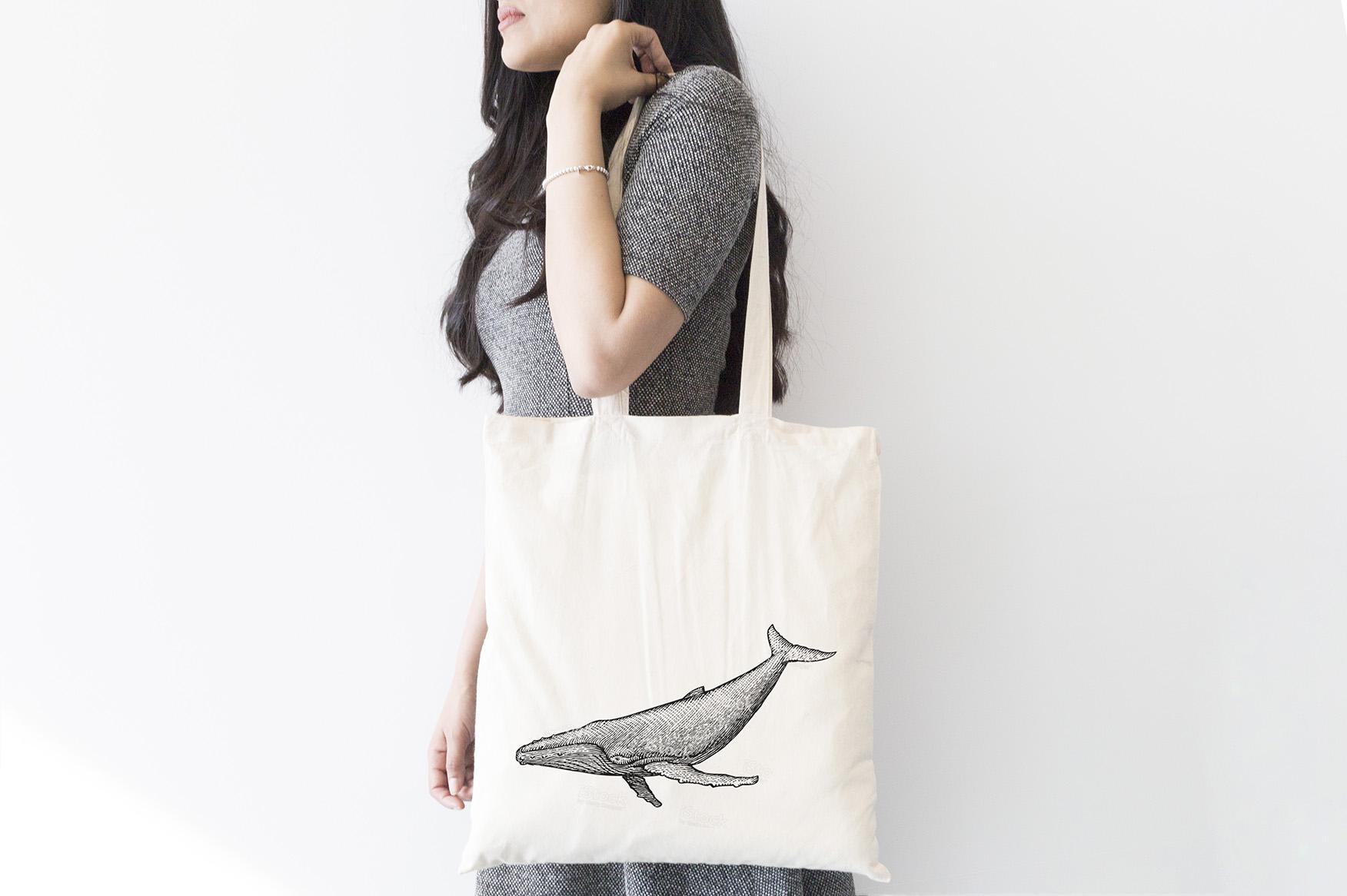 INT9369 Plastic Free July_Tote Bag-Designs_whale FA2