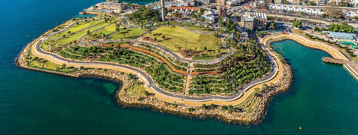 Sydney's newest foreshore