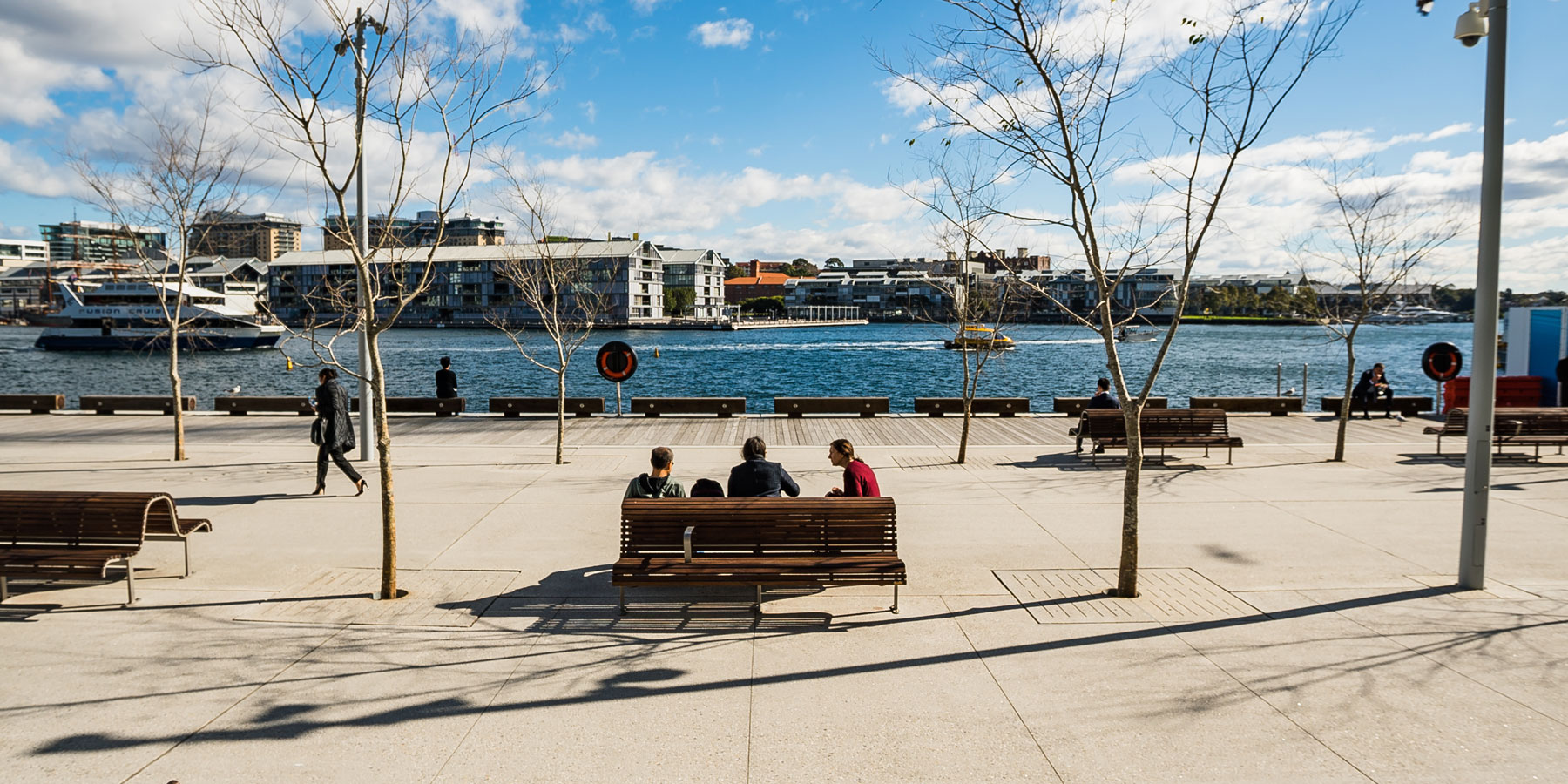 Sydney's newest harbour foreshore