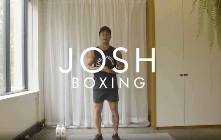 boxing episode 1 with Josh