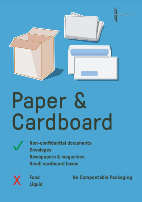 recycling papers & cardboard